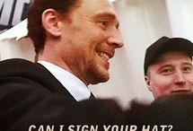 Tom Hiddleston / by Emma Stephens