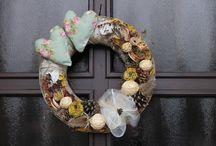 Dekorace věnců (Wreath Decorations) / Objednávejte na: dekoracevence@seznam.cz nebo 777 93 93 16 :-)