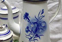 Pots de fleurs zinc