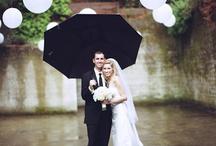 Inspiration - Rainy Weddings
