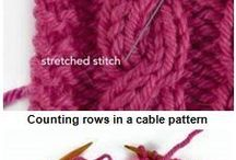 Knitting Cables / knitting technique, knitting cables