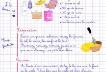 Desserts  verrines et crêpes sucrées / Verinnes gâteaux