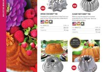 Nordic ware / beautiful bundt pan. I cannot resist for them