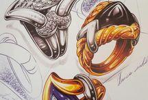 Jewellery sketch