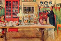 Zweedse schilder Carl Larsson / Carl Larsson leven en werken
