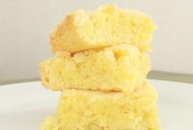 Bars & Brownies - Almond / Almond Bars / by Sue Vanden Berge