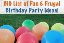 Party for kiddos / by Brittany Patterson