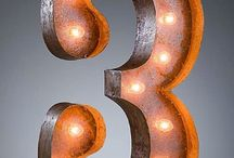 Typographic numbers / Numbers mark a new day / by Laura Hepburn