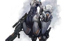 cyborg / robot