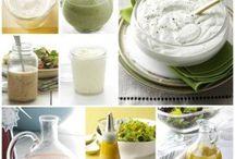 Saláta öntetek