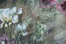 Art floral .peinture.
