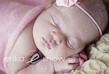 Newborns by erika snow photography / by Erika Snow