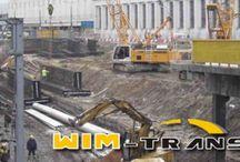 Oferta / Firma PPHU WIM-TRANS Witold Michalak to firma posiadająca wieloletnie doświadczenie w branży budowlanej.