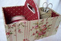 cartonnage / cartonnage pratique et/ou décoratif
