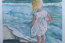 Art of Mine / Paintings and drawings of my own / by Gail Van Camp