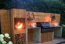Outdoor Braai area