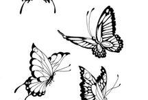 Vlindertattoos