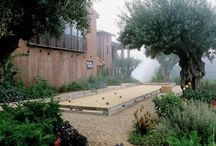 Bocce in the reclaimed alley