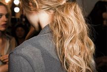 Everyday hairstyles / The messier the better!