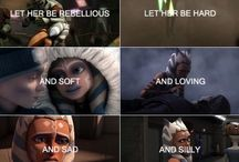 A H S O K A / Ahsoka has been such a strong female character, shes inspired and taught girls like me that we can be anything.