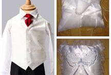 Tiny tux traditional formal wear / Boys wedding outfit