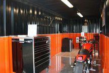 Motorsykler Garages