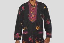 Baju Batik Koko Lengan 7/8 H1148