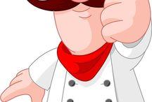 Chef caricatura
