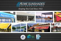 ACME SUNSHADES / Our Products