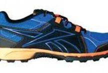 Reebok Trail Run RS Running Mens Shoes - Vital Blue/Black/Fluorange