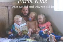 The Country Family / All about family-living in the country. Why do it? What are the benefits? What are the struggles? What are the rewards? Chores and marriages, crops and animals, children and bottles, lots and LOTS of multi-tasking...come and see family life in the country!