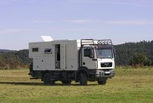 Man - RV and expedition trucks / RV and expedition motorhome trucks based on a Man truck