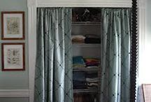 Curtains as door
