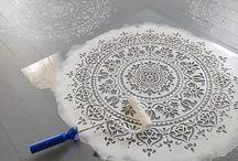 Dekormaling - Mandala og div