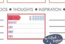 Stationery, calendar ideas