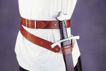 sword dagger frog belt