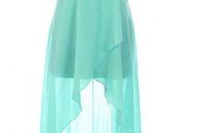 Платья с подолом разной длины