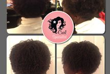 My Curly Haired Clients / Examples of my work as a Curly Hair Artist.  They show how beautiful your curls can look once you remove sulfates, silicones, treat your hair with some TLC and get a good dry curly haircut!