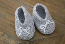 idées chaussons bébé