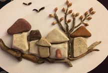 Stone Art / Art and design with stones