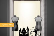 vetrofanie - halloween / vetrofanie per hallowwen di vario tipo e colore