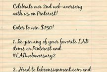Contests / by LABConsignment.com