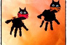 Halloween / décoration fête halloween, monstres et sorcières, fantomes et vampires, bonbons, chauve souris, citrouillle