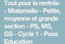 PS - maternelle