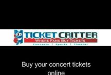 Ticket Resale Marketplace Online. Buy Your Concert Tickets Online / Ticket resale marketplace online. Buy your concert tickets online. Affordable sports tickets, concert tickets and theatre tickets online.  Best online cheap tickets at http://www.TicketCritter.com
