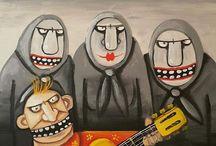Artist Vasya Lozhkin