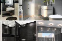 Bathroom Interior Ideas / bathroom • bathroom interior ideas • bathroom ideas • bathroom tiles • bathroom decor • bathroom ideas small • scandinavian bathroom • classic bathroom • country bathroom • rustic bathroom • provence bathroom • white bathroom ideas • bathroom wallpaper • bathroom floor tiles | ★ positivefox.com
