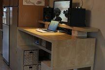 Studio/desk ideas