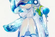 Splatoon Inkling Girl