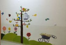 School hallway decorations